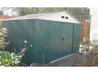 Metal Garden Shed 8ft X 10 ft
