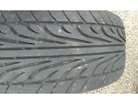 Two 205 55, 17 tyres for Ford Mondeo