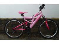 24inch Eclipse ladies/girls bike pink good condition