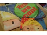 Bob the Builder and Thomas the Tank Engine - children's bed linen