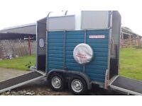 wessex horse trailer