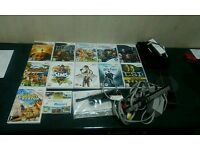 Nintendo wii with 11 games now £55.00 to clear