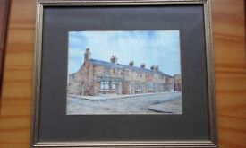Coronation Street Picture.(signed)