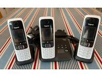Siemens Gigaset C430A Cordless Phone - Pack of 3