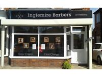 INGLEMIRE BARBERS .... NOW OPEN... CUTS FROM £5.00!!!!