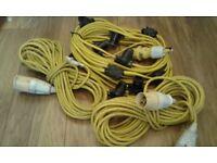 110V leads and festoon lights