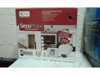 Secuplace wireless alarm system new in box complete