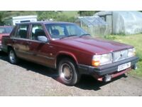 1986 VOLVO 740 GLE , 5 SPEED MANUAL, TWO OWNERS! CLASSIC / RETRO / ... DRIFT??
