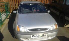 Ford Fiesta Zetec sport, 3 door hatchback, 2000 model, manual, petrol, 12 month MOT.