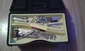 tool box full of tools for cars or motorbikes
