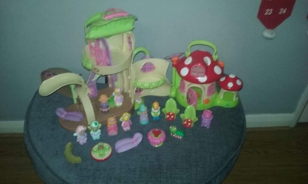 ELC Happy Land Fairy land Boot and Toadstool