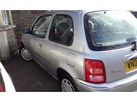 Reliable little Nissan Micra, a little scratched, well-loved, needing a happy home!