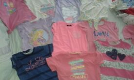 10 Girls T-shirts good condition 7-8 years