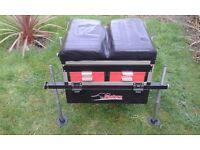 Pantera Fishing Tackle Metal Storage Box with Seat 5 Draws
