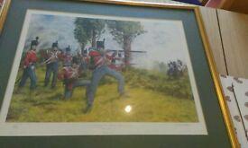 Large brian palmer framed print