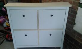 Ikea Hemnes Shoe Cabinet - Used but in good condition