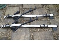 2 x Thule ProRide 591 Roof-Mount Bike Carriers for sale