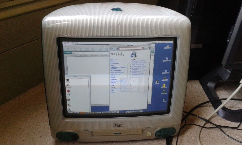 26/06/2018 20 year old apple imac vintage computer POWER PC G3 - BROCKLEY |  in New Cross, London | Gumtree