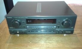 Technics SA-GX550 AV Control Stereo Receiver/Home Cinema Amp