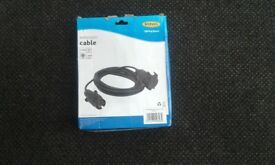 Caravan or trailer board extension lead brand new £8no offers phone calls only