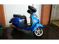 Labretta 125 scooter