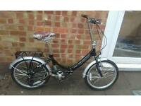 Brand new folding bike. Fully Serviced fully working.