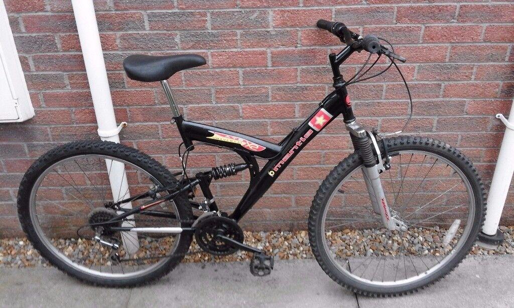 Universal Mantis Dual Suspension Mountain Bike Bicycle