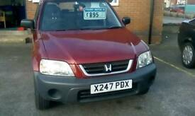 Honda CRV 5 Speed manual petrol