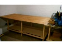 Workbench - Hardwood ply - Very big 8x4 foot
