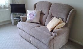 Sofa and two armchairs.