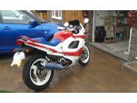 1991 Suzuki GSXF600 Motorbike - 10 months MOT, Great runner