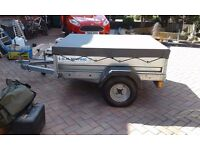 Galvanised trailer for sale in excellent condition