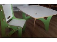toddler / child's table and chair