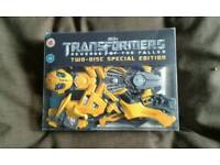Collectable transformers dvd and modle