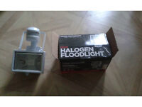 floodlight 120w with motion detector - new