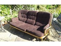 ERCOL jubilee settee for sale very good condition