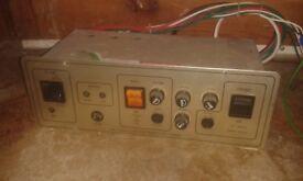 caravan charging unit the zig cf9b charging unit in used condition