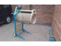 For Rent SCHEPPACH RS400 electric rotary motorised soil sand rubble sieve HIRE LONDON Surrey