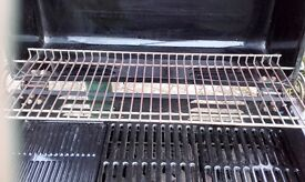 Outback 'Spirit' Gas BBQ - 3 Burners, Grill, Griddle and Warming Rack