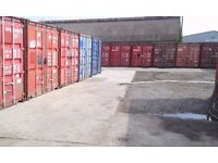 20FT & 30FT container storage units / garage for rent