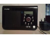 Pure One Portable DAB/FM Radio