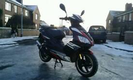 Pulse force 50cc moped 12month mot