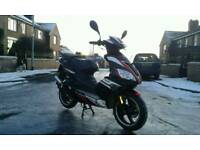 Pulse force 50cc moped 12month mot