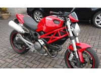 Ducati Monster 696, lots of extras + carbon
