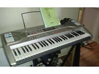 Casio LK-93 electric music keyboard with stand. Light up keys learning system.