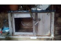 guinea pig or small rabbit hutch