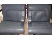 DAIMLER MK2 V8 60s SEATS LOVELY CONDITION ALL LEATHER READY TO FIT