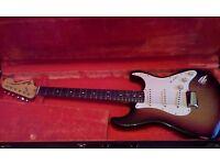 1972-1973 fender Stratocaster USA Sunburst OHSC 9.7/10 amazing!