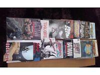 24 comic books