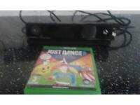 Xbox one kinect sensor with just dance 2015